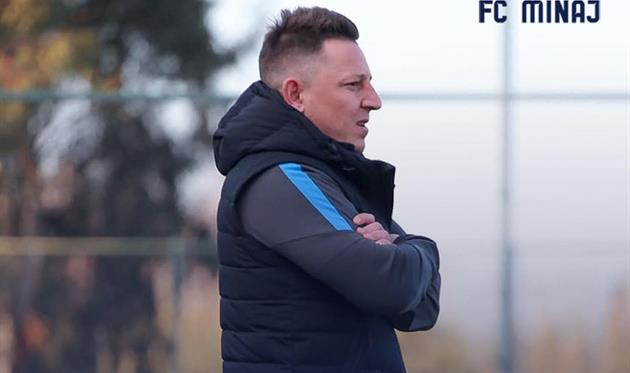 Василий Кобин, ФК Минай