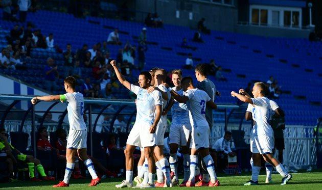 Динамо U-19 разгромило Баварию U-19 в Юношеской лиге УЕФА