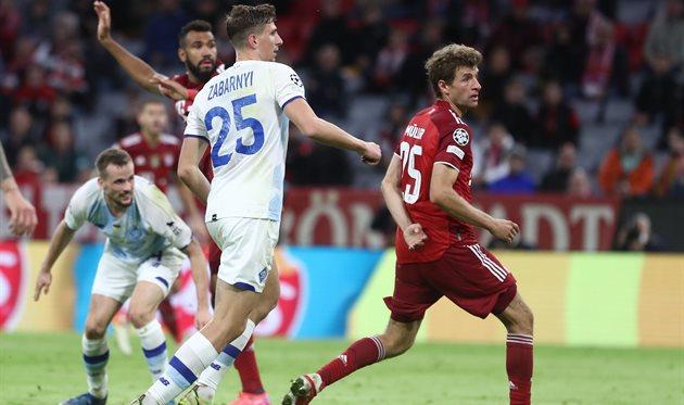 Динамо Киев, Шахтер и Заря забили только один гол на троих за шесть матчей еврокубков