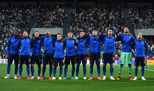 Игроки сборной Италии, Getty Images