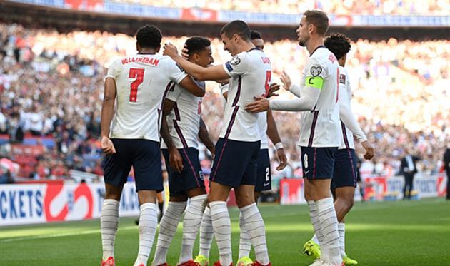 Игроки сборной Англии, Getty Images