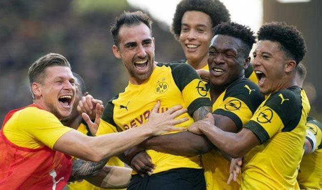 Боруссия дортмунд футбол юа