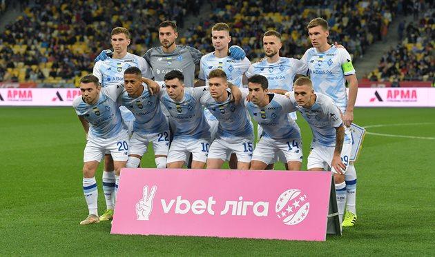 Игроки Динамо, фото Шахтер