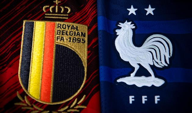 Бельгия — Франция, УЕФА