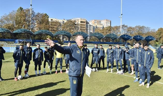 Сборная Украины сегодня отправится в Финляндию на матч отбора ЧМ-2022