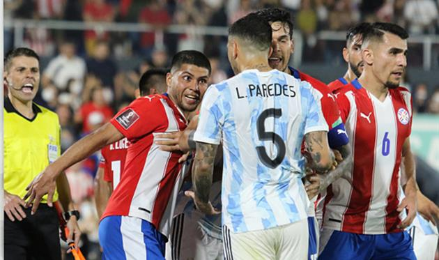 Парагвай - Аргентина, Getty Images