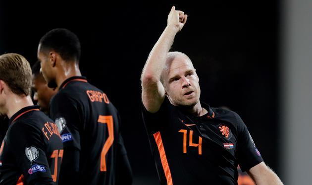Дэйви Классен, фото Федерации футбола Нидерландов