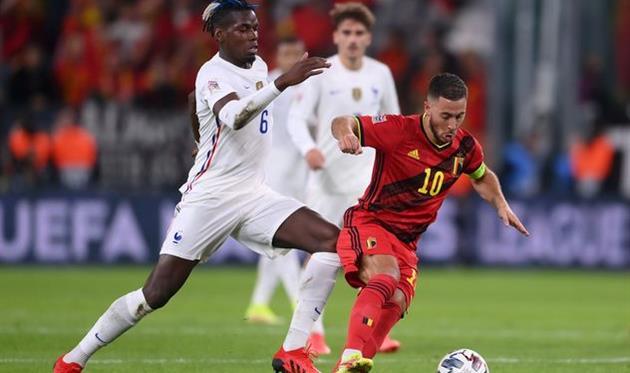 Эден Азар в матче против сборной Франции, Getty Images