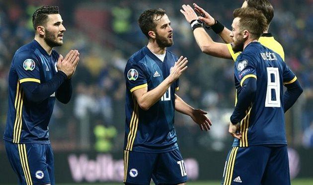 Игроки сборной Боснии и Герцеговины, Getty Images