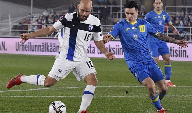 Финляндия — Украина: видео голов и обзор матча