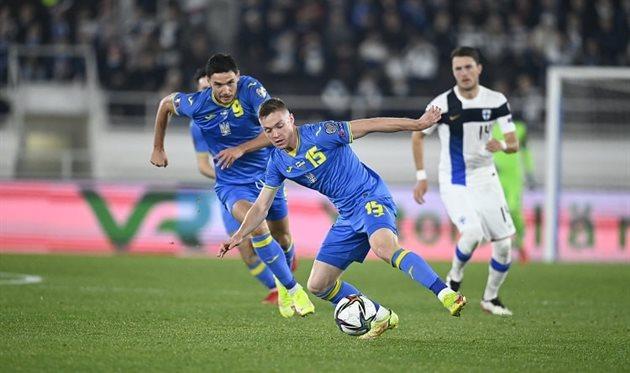 Кто был лучшим игроком сборной Украины в матче против Финляндии?