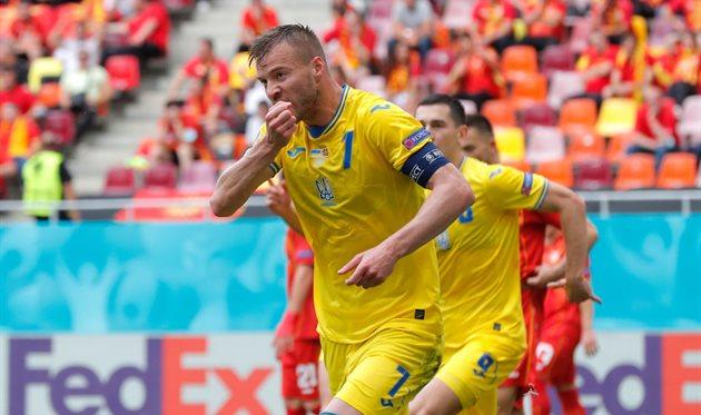 Ярмоленко — лучший игрок матча Финляндия — Украина по версии WhoScored