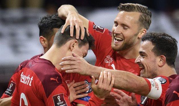 Швейцария — Северная Ирландия, football.ch