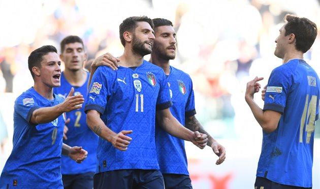 Радость сборной Италии, getty images