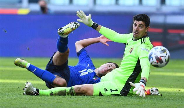Куртуа: Матч с Италией был лишь для того, чтобы УЕФА получил больше денег