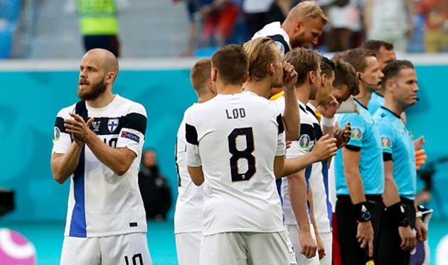 Игроки сборной Финляндии, Getty Images