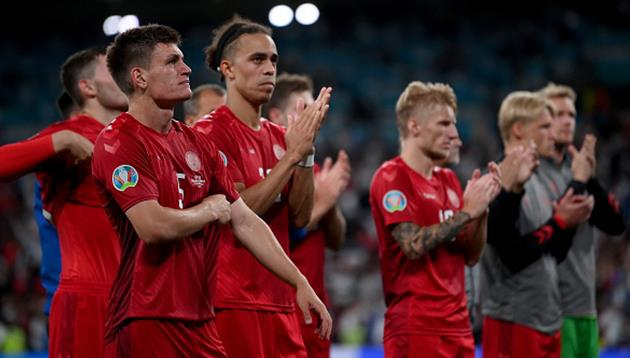 Игроки сборной Дании, Getty Images