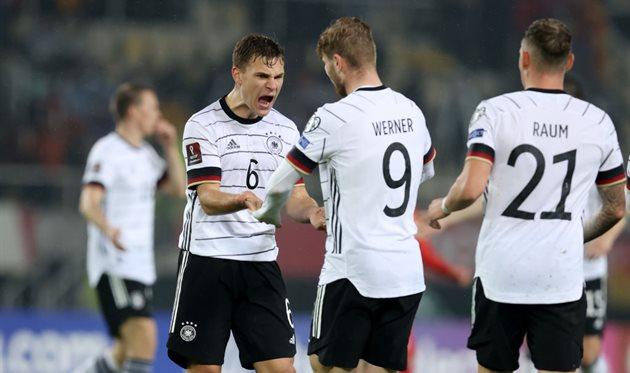 Германия первой в Европе вышла на чемпионат мира-2022