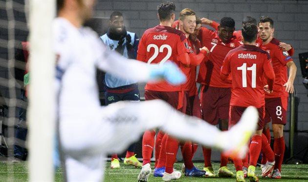 Литва - Швейцария, football.ch