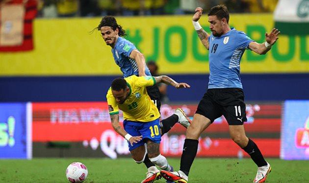 Бразилия - Уругвай, Getty Images