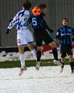 Эх, отличный был матч :-) Фото fcarsenal.com.ua