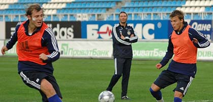 Роман Зозуля и Андрей Ярмоленко, фото Ильи Хохлова, специально для Football.ua