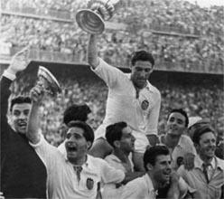 Триумф в Кубке 1954 года, valenciacf.com