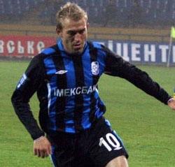 Александр Косырин, фото ФК Черноморец