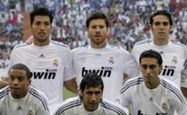 Обновленный Реал с Гараем (слева вверху), АР