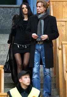 Дама и Валерий Карпин