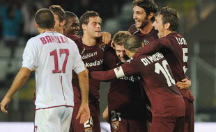 Торино празднует победу, Corriere dello Sport