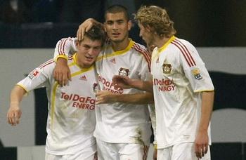 Кроос, Дердийок и Кисслинг, фото Reuters