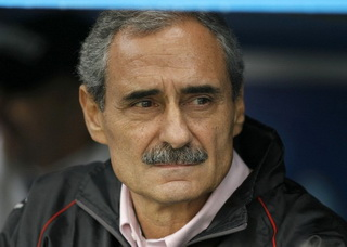 Тренер Уракана Анхель Каппа, фото Reuters