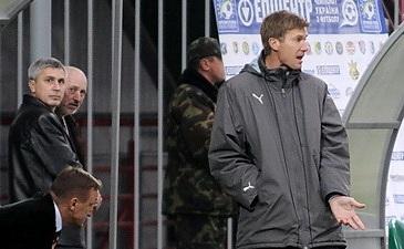 У Юрия Максимова есть повод для радости, фото Ильи Хохлова Football.ua