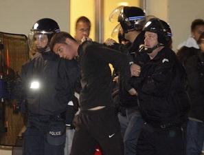 После матча Марсель - ПСЖ, Reuters