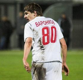 Воронков еще в футболке Оболони, фото Ильи Хохлова, Football.ua