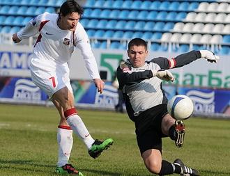 В пятницу Ионуц был не так точен, фото Ильи Хохлова, Football.ua