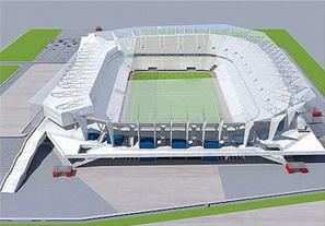 У львовского стадиона сменился строитель