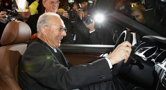 Франц катит телегу на Буффона, Getty Images