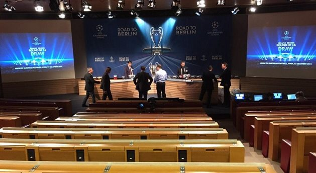Фото официального твиттера Лиги чемпионов