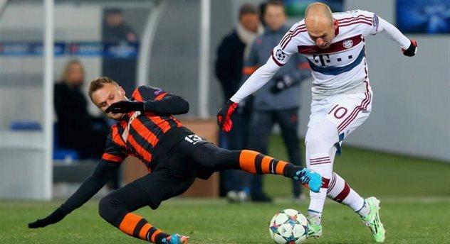 Шевчук против Роббена, Getty Images