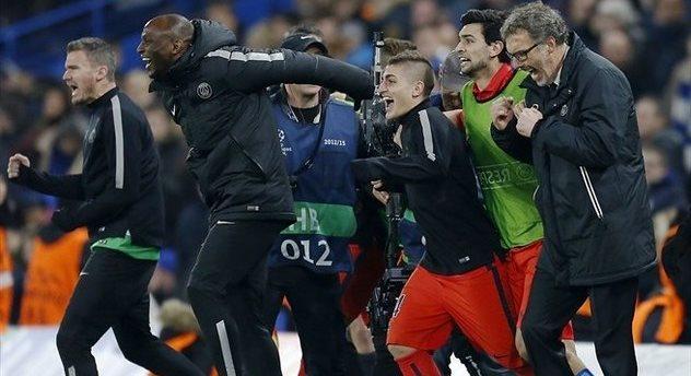 Радость игроков и Блана, AFP/Getty Images