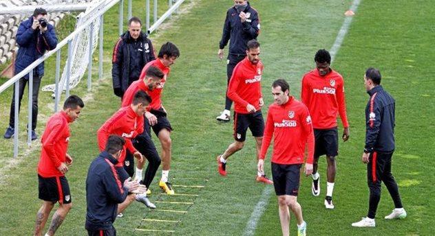 Тренировка Атлетико, Marca