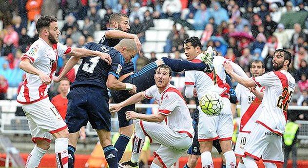 Карим Бензема во вчерашнем матче, getty images