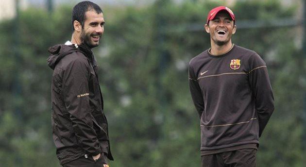 Хосеп Гвардиола и Луис Энрике, sport.es