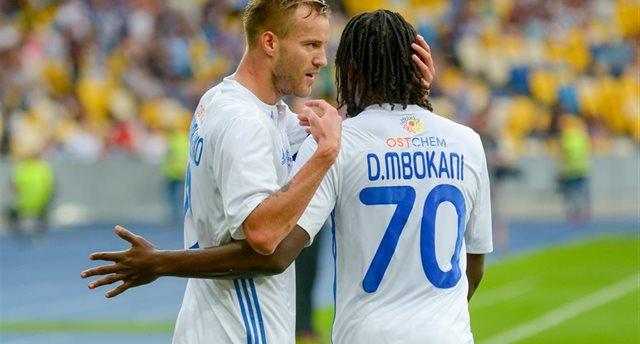 Ярмоленко и Мбокани, Фото: Олег Батрак