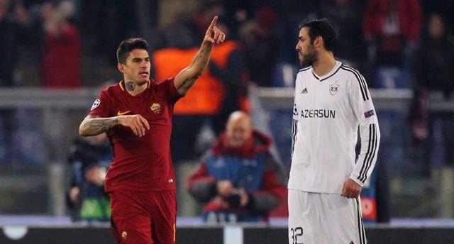 Диего Перотти принес Роме победу над Карабахом, Getty Images