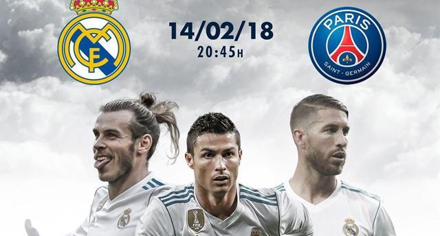 Реал — ПСЖ: онлайн-трансляция начнется в 21:45