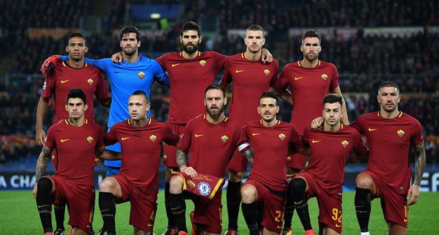 Рома перед игрой с Челси, Gettyimages
