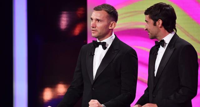 Андрей Шевченко проведет жеребьевку полуфинала Лиги чемпионов, Getty Images
